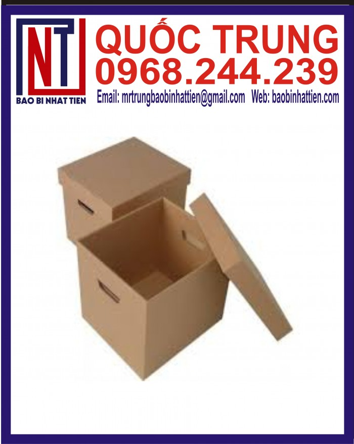 Thùng Carton Đựng Thực Phẩm Giá Rẻ15