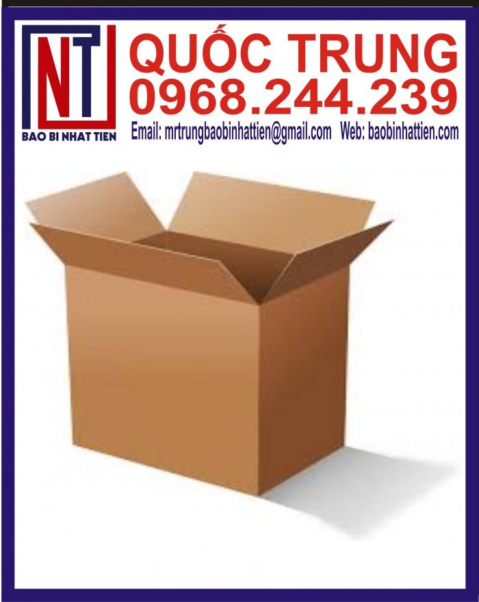 Thùng Carton Đựng Thực Phẩm Giá Rẻ11