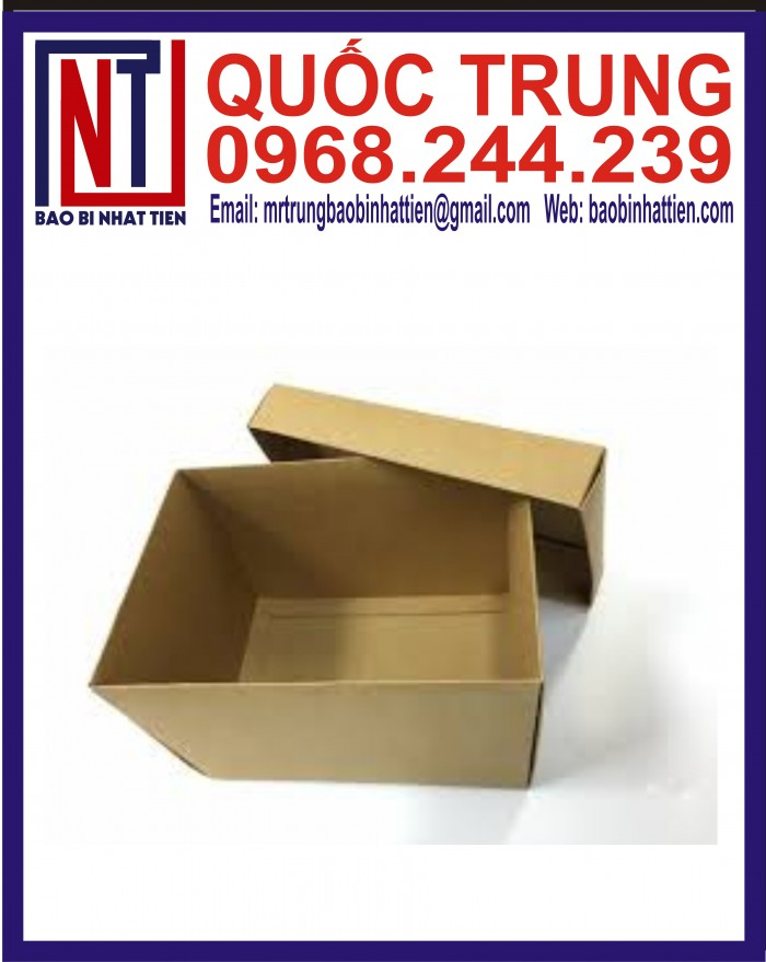 Thùng Carton Đựng Thực Phẩm Giá Rẻ13