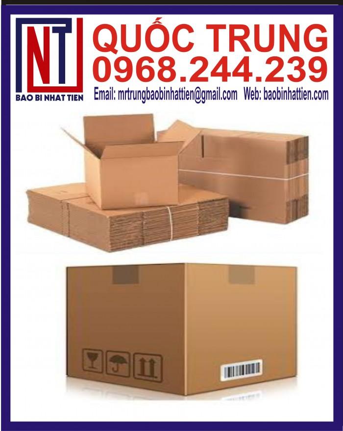 Thùng Carton Đựng Thực Phẩm Giá Rẻ4