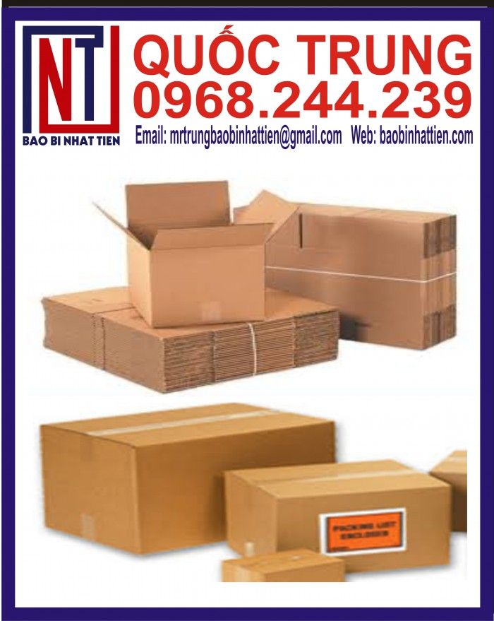 Thùng Carton Đựng Thực Phẩm Giá Rẻ2