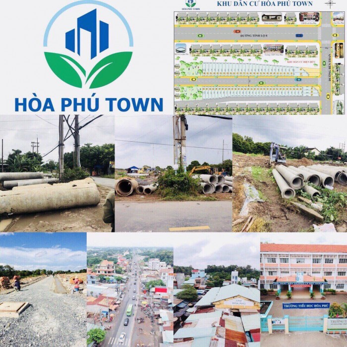 Dự Án Hòa Phú Town Nằm Ngay Mặt Tiền Bến Than Giáp Quận 12