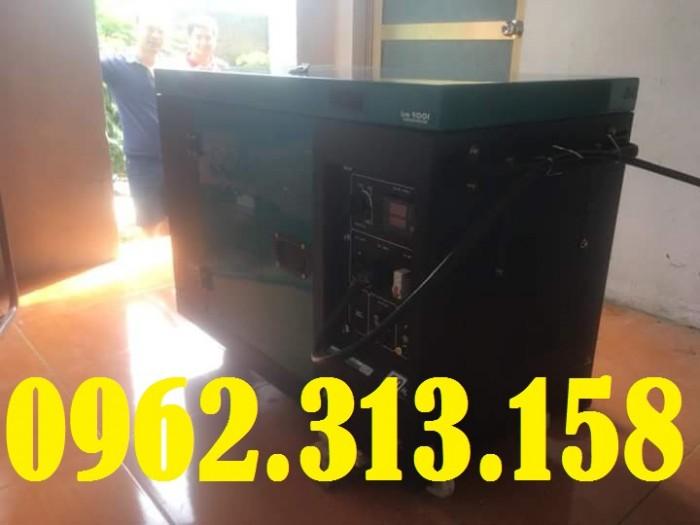 Máy phát điện chạy dầu 7kw Bamboo 8800ET công nghệ Nhật cho hộ gia đình1