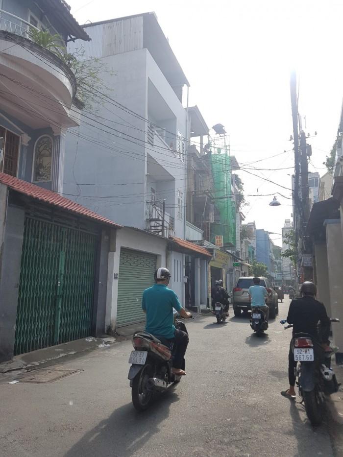 Xuất cảnh bán gấp Phần Thô nhà 4.5x19m HXH Trần Mai Ninh thông Bàu Cát