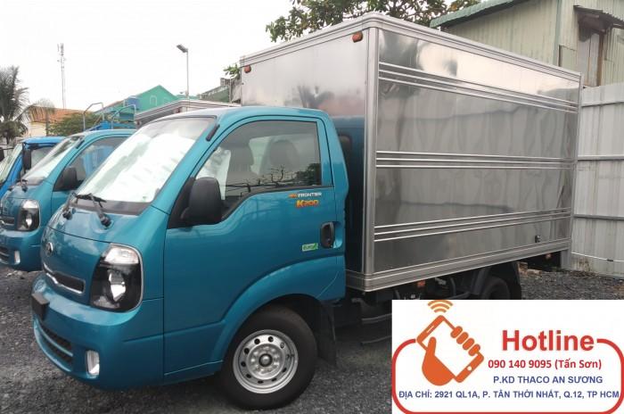 Kia K200 nhập khẩu Hàn Quốc Động cơ Hyundain D4CB euro 4