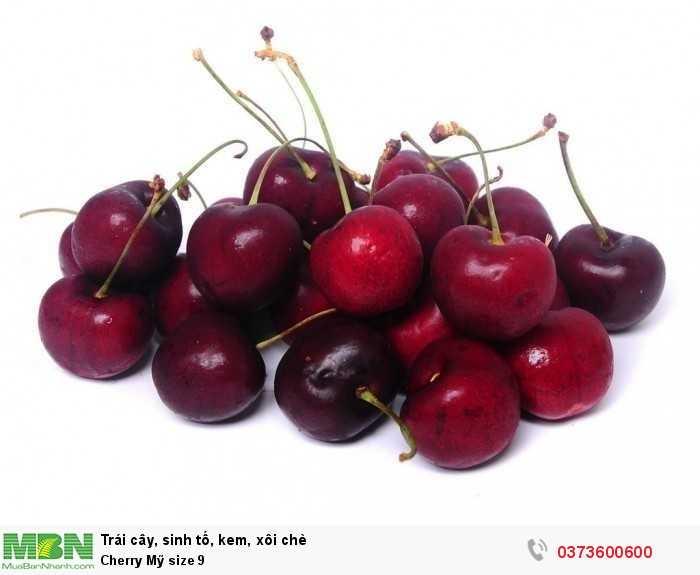 Cherry Mỹ size 8.5 tươi ngon giòn ngọt