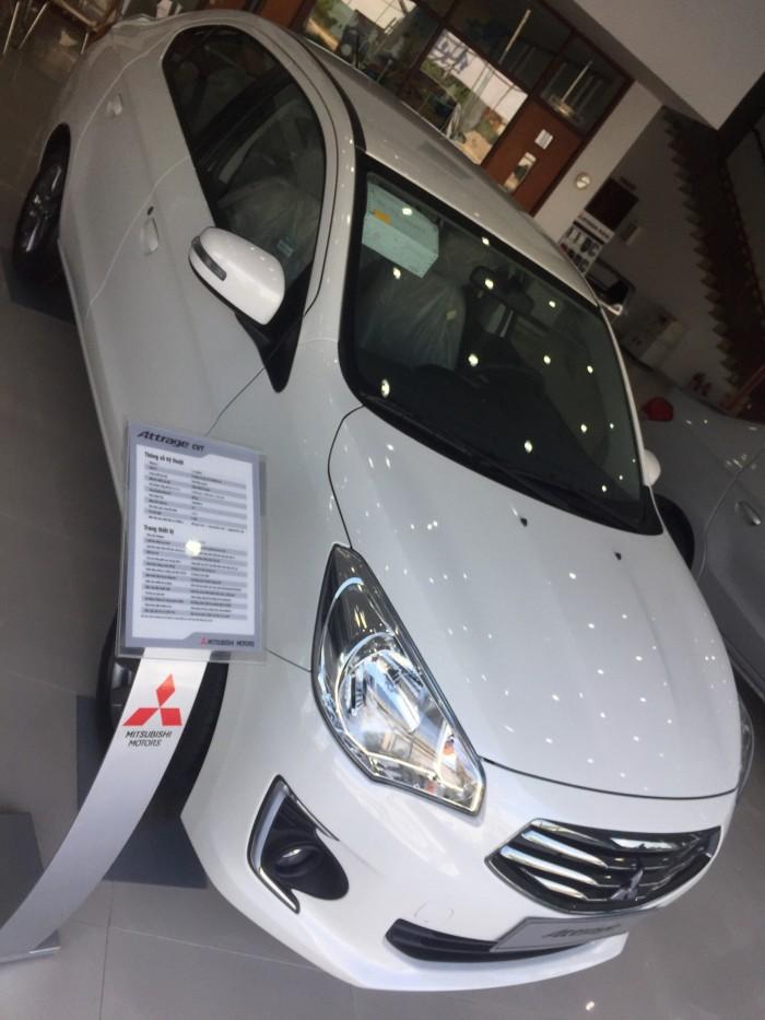Mitsubishi Attrage CVT nhập THÁI LAN, Giao ngay nhiều khuyến mãi. GỌI NGAY!