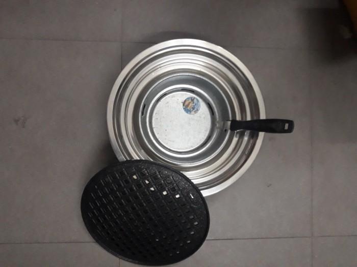 Bếp nướng than hoa âm bàn vỉ đá hoa cương cao cấp Hàn Quốc5