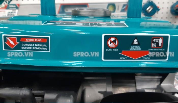 Thông số máy phát điện chạy xăng Total TP18001
