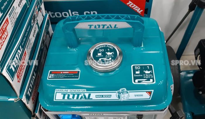 Tay xách máy phát điện chạy xăng Total TP18001