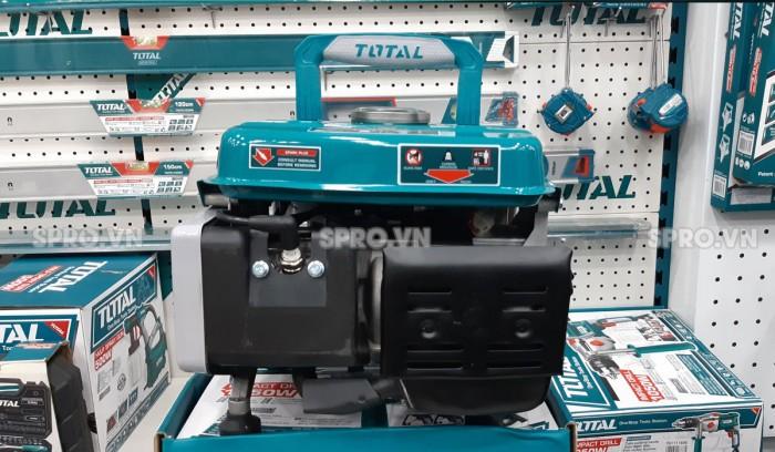 Mặt sau máy phát điện chạy xăng Total TP18001