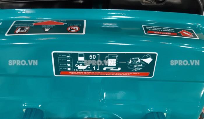 Máy phát điện gia đình chạy xăng total TP18001