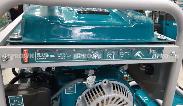 Hướng dẫn sử dụng máy phát điện chạy xăng Total 3kw TP130005