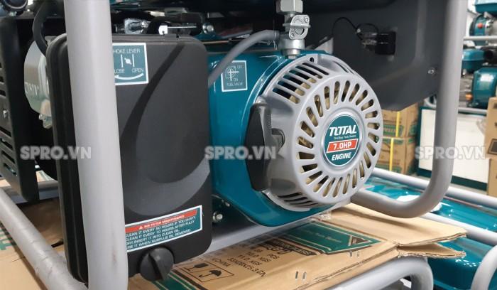 chi tiết máy phát điện chạy xăng Total 3kw TP130005