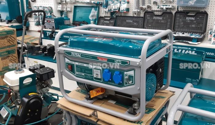 Máy phát điện chạy xăng Total 3kw TP130005