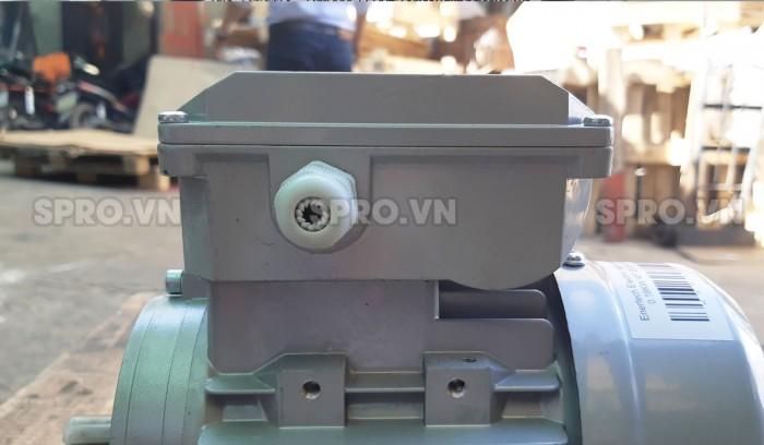 Hộp số động cơ mô tơ điện Enertech ESS000184 1 pha công suất 0.25 Hp