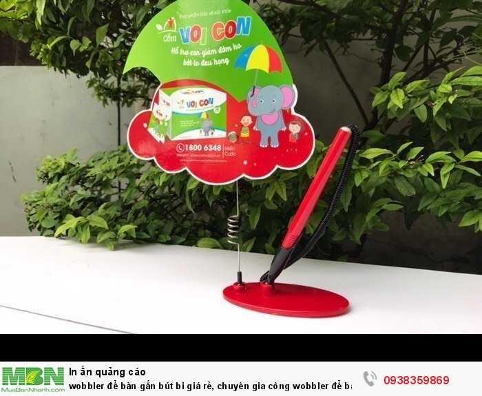 Wobbler để bàn gắn bút bi giá rẻ, chuyên gia công wobbler để bàn gắn bút bi2
