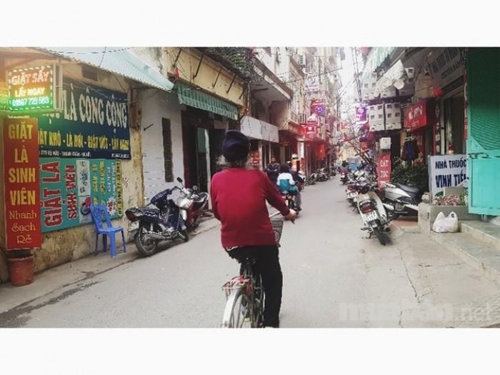 Bán nhà MP Vũ Hữu, 41m2 5 tầng, mt3,8m, KD đắc địa