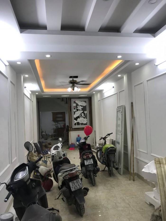 Bán nhà ngõ Giáp Bát, Hoàng Mai, 69m2, MT3.6m, ngõ rộng