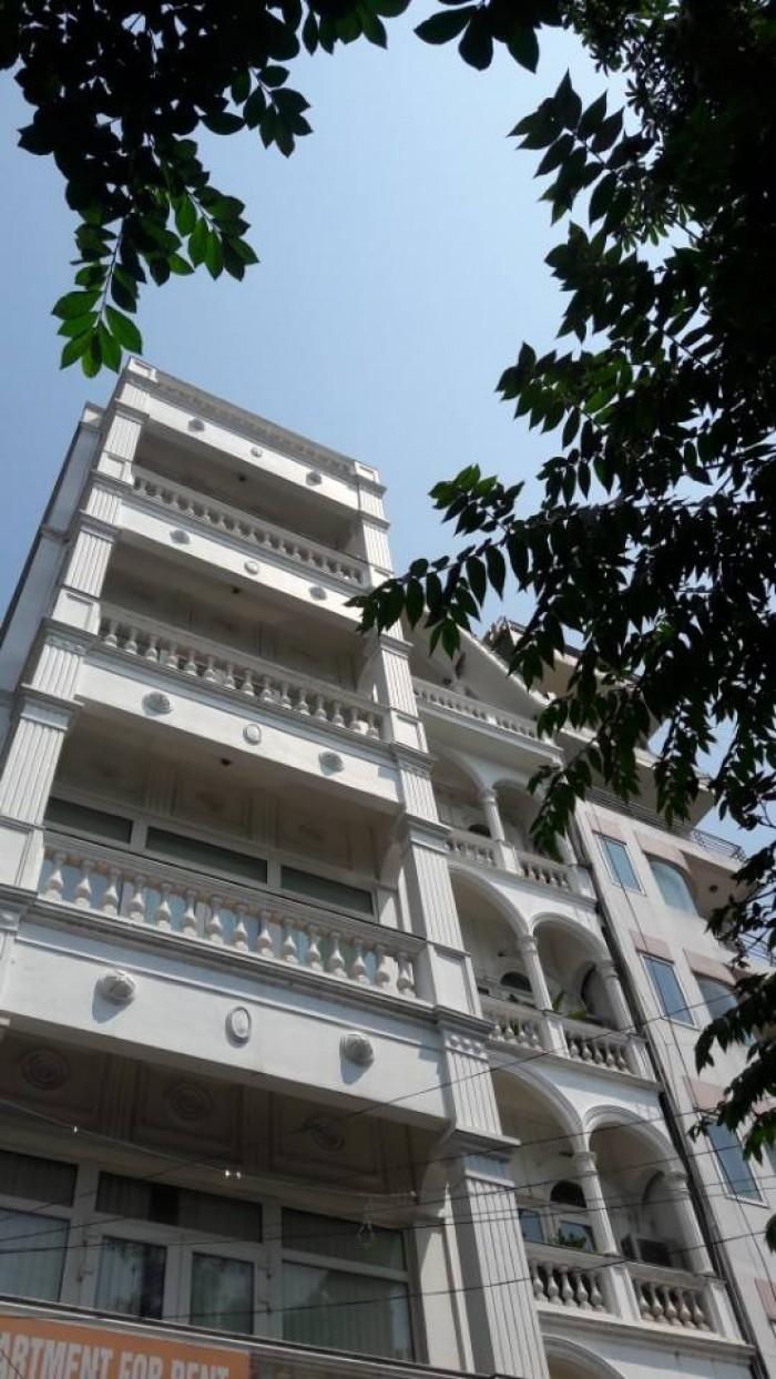 Bán Nhà Mặt Phố Trương Định,nhà 5 Tầng ,vỉa Hè Rộng 3M,cách Phố Tân Mai 300M