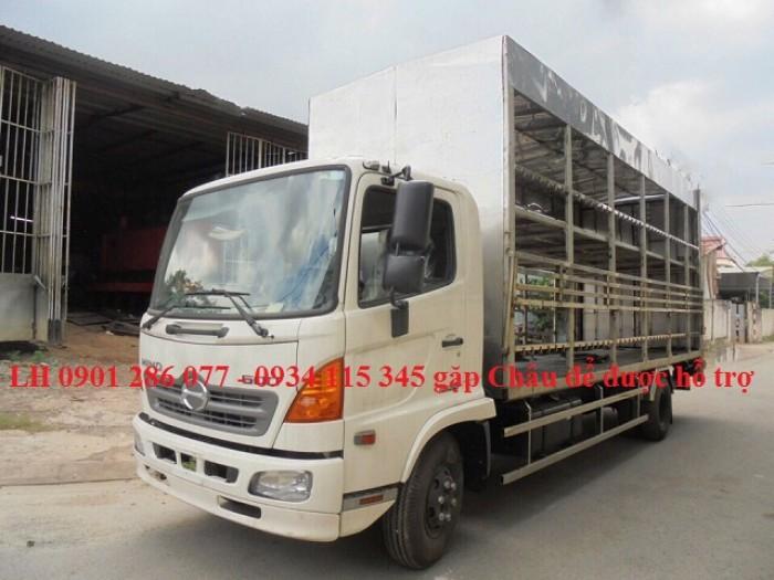 Xe tải Hino FC9JL TA thùng 6m6 thùng chở xe máy/Linh kiện Nhật/ Giá sốc/ hỗ trợ trả góp/thủ tục nhanh 2