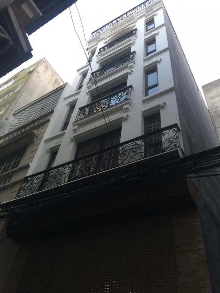Bán nhà Vĩnh Tuy 35m2, 5 tầng ở luôn, gần trường Kinh Doanh Công Nghệ