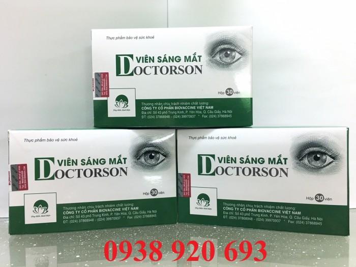 Viên sáng mắt DoctorSon Giúp tăng cường thị lưc, hỗ trợ cho đôi mắt sáng khỏe
