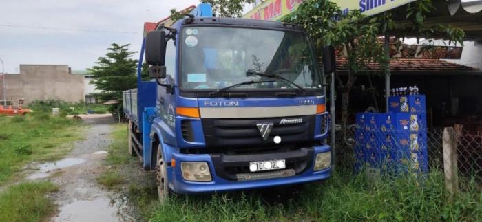 Xe tải Thaco gắn cẩu tadano 5 tấn 4 khúc