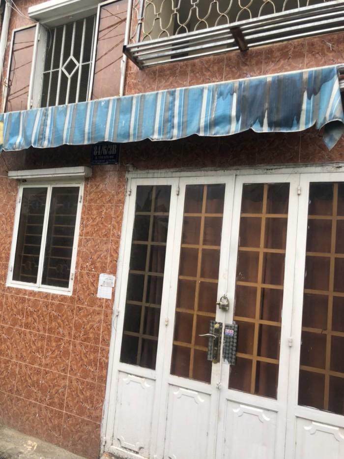 Bán nhà hẻm Tân Sơn Nhì 4m x 5m, 2 lầu