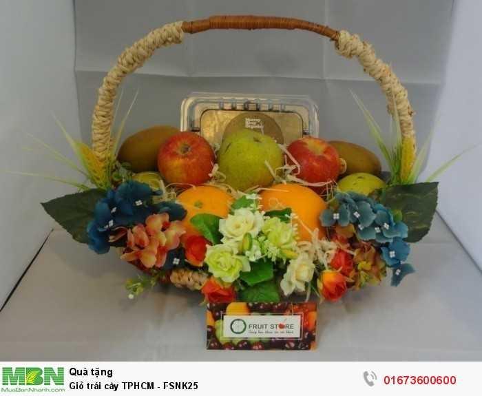 Giỏ trái cây TPHCM - FSNK25