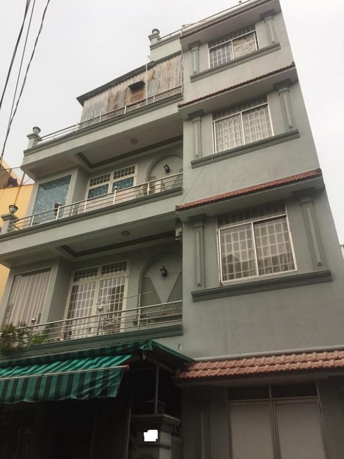 Bán nhà quận 10, Nguyễn Tiểu La, 59m2 x 4T, HXH 10m, Kinh doanh tốt