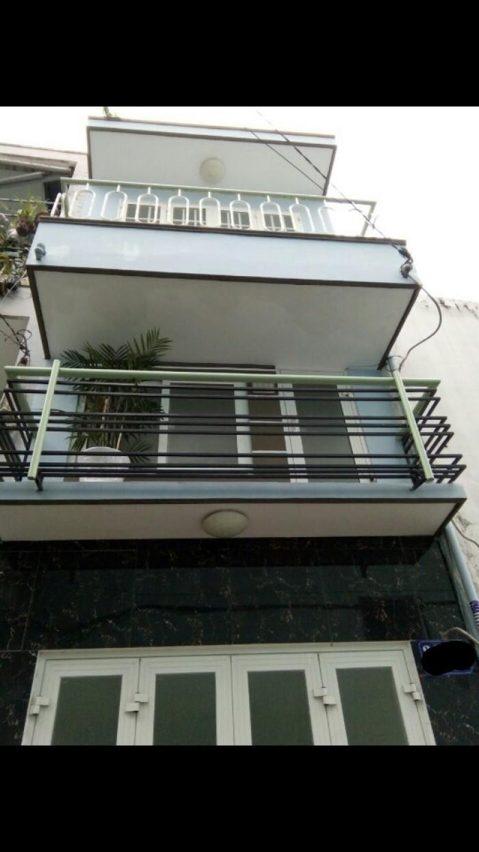Bán gấp nhà nhỏ 3x5m 2 lầu hẻm 4m Vườn Lài (cách MT 10m)