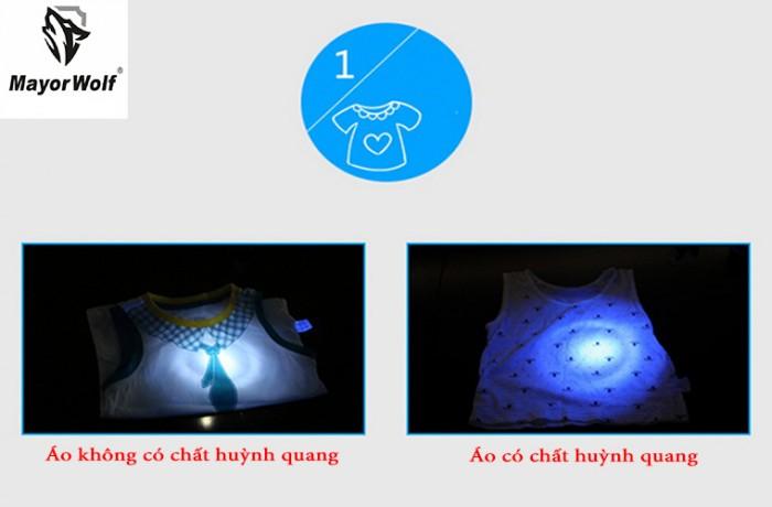 Đèn pin tia UV, đèn pin soi tiền giả, soi giấy tờ - MayorWolf4