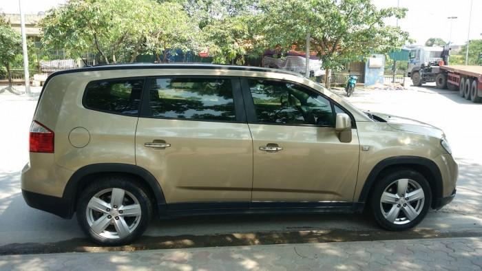 Cần bán gấp xe Chevrolet Orlando đời 2012 bản LTZ,số tự động,màu vàng cát