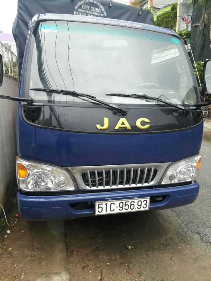 JAC Tải trung sản xuất năm 2017 Số tay (số sàn) Xe tải động cơ Dầu diesel