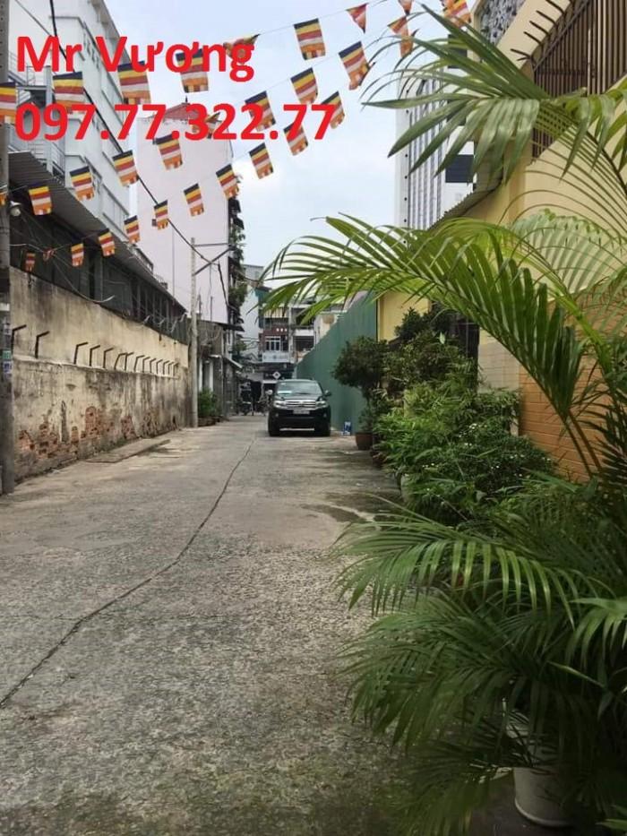 Bán nhà DT 80m2, nở hậu 5m, hẻm xe hơi vô tận nhà, đường Lê Thị Riêng, Q1