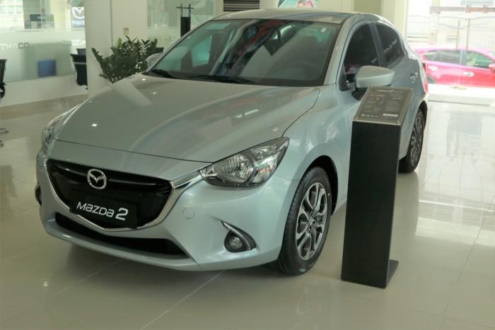 Mazda 2 1.5 Sd ( Bạc) - Trả Trước 130Tr - Xe Đủ Màu Giao Ngay