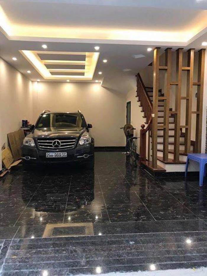Nhà mới tinh ở Khương Trung, gara ô tô, ngõ thông, kinh doanh. 40m2 4 tầng. 5.9 tỷ.