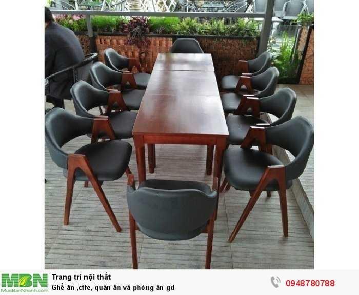 Ghế ăn caffe, quán ăn và phòng ăn gd0