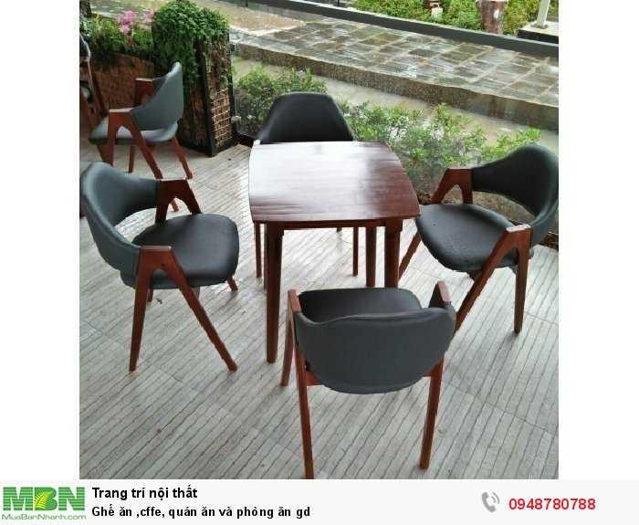 Ghế ăn caffe, quán ăn và phòng ăn gd1