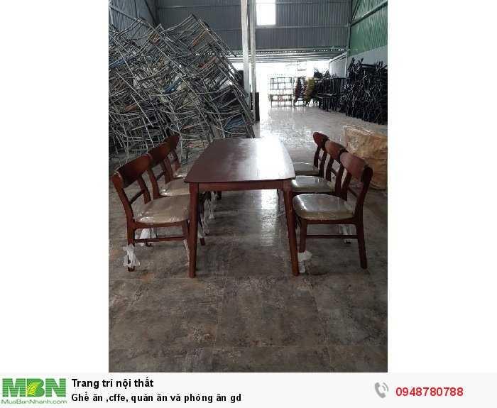 Ghế ăn caffe, quán ăn và phòng ăn gd2