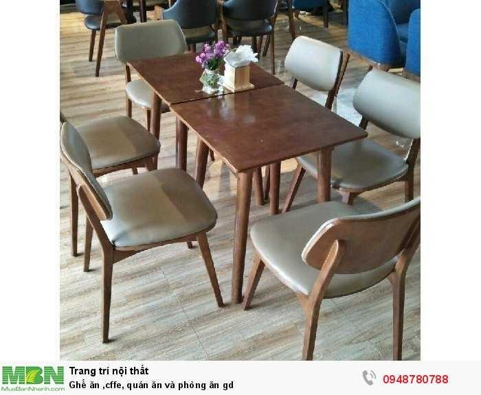 Ghế ăn caffe, quán ăn và phòng ăn gd3
