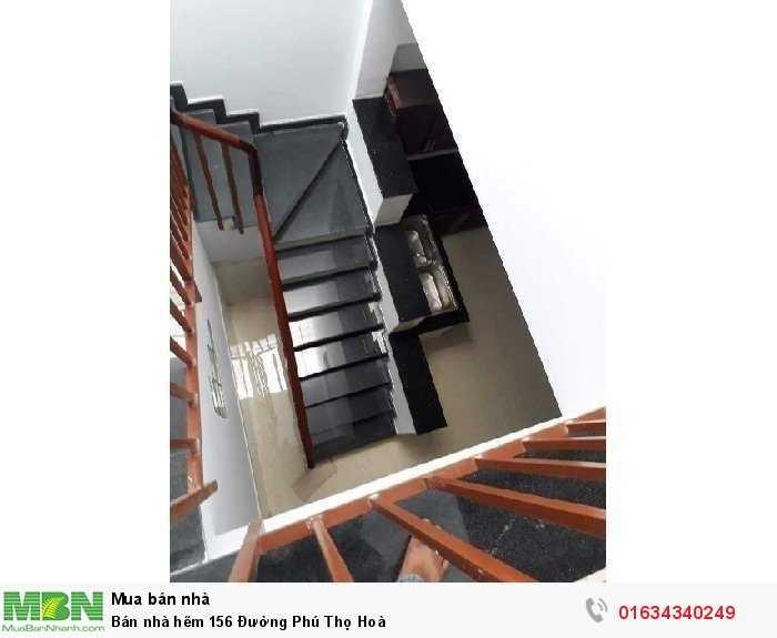 Bán nhà hẽm 156 Đường Phú Thọ Hoà