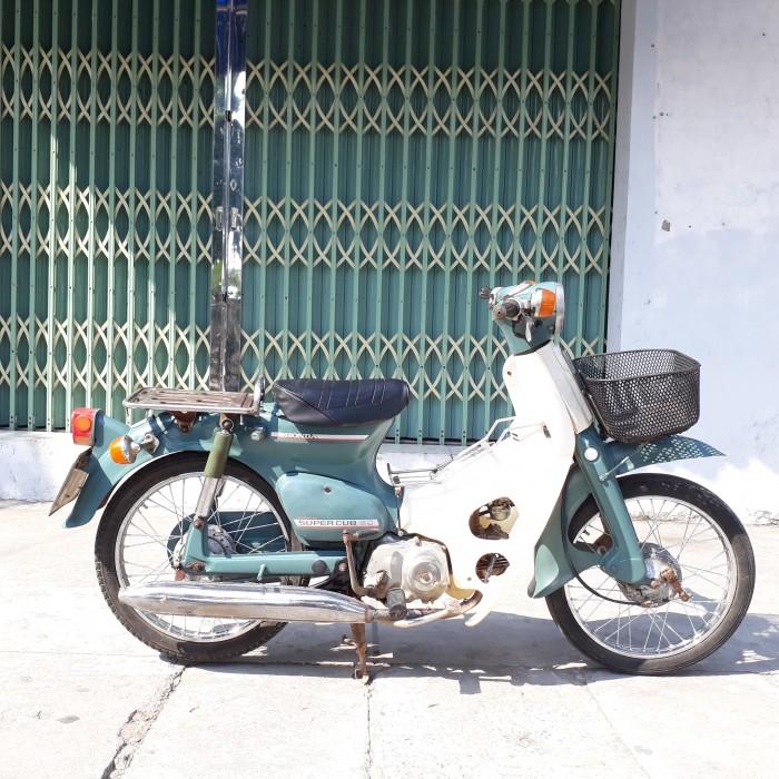 Cub 81 Honda Nhật 50cc xe nguyên bản biển 4 số Hà Nội