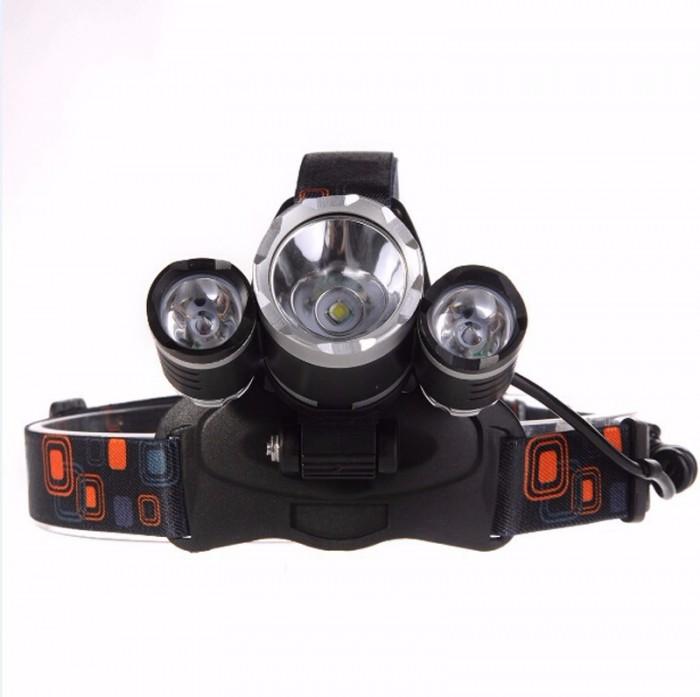 Đèn pin đội đầu 3 bóng T6