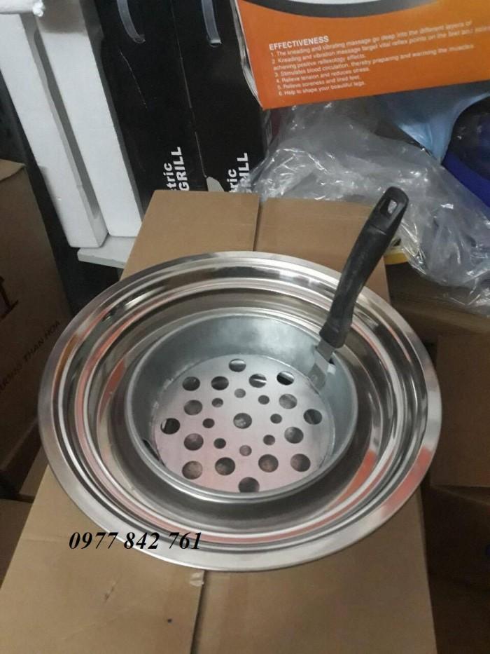 Bếp nướng than hoa âm bàn vỉ gang giá rẻ1