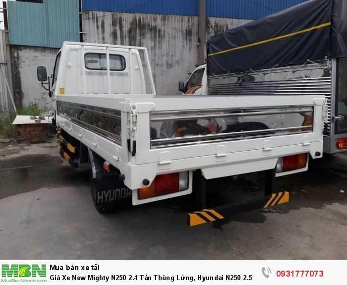 Giá Xe New Mighty N250 2.4 Tấn Thùng Lửng, Hyundai N250 2.5 Tấn Trả Góp 90% 3