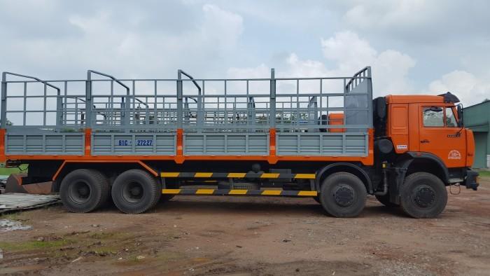 Tải thùng 4 giò Kamaz, Kamaz thùng 30 tấn, Bán xe tải thùng kamaz 4 chân dài 9m 4