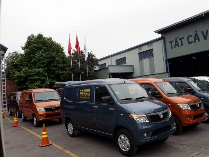 Muốn bán xe tải van kenbo 5 chỗ 650kg, xe tải van giá tốt