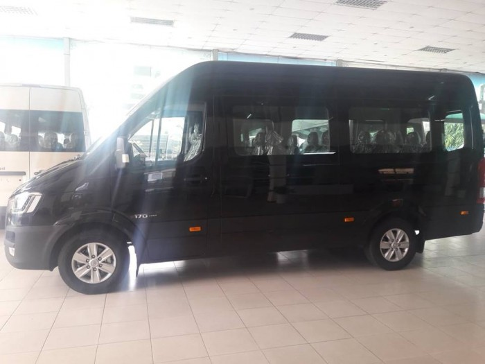 Xe 16 Chỗ Hyundai Solati 2018 Trả Trước 20% Nhận Xe, Tặng Gói Tài Chính 30 Triệu